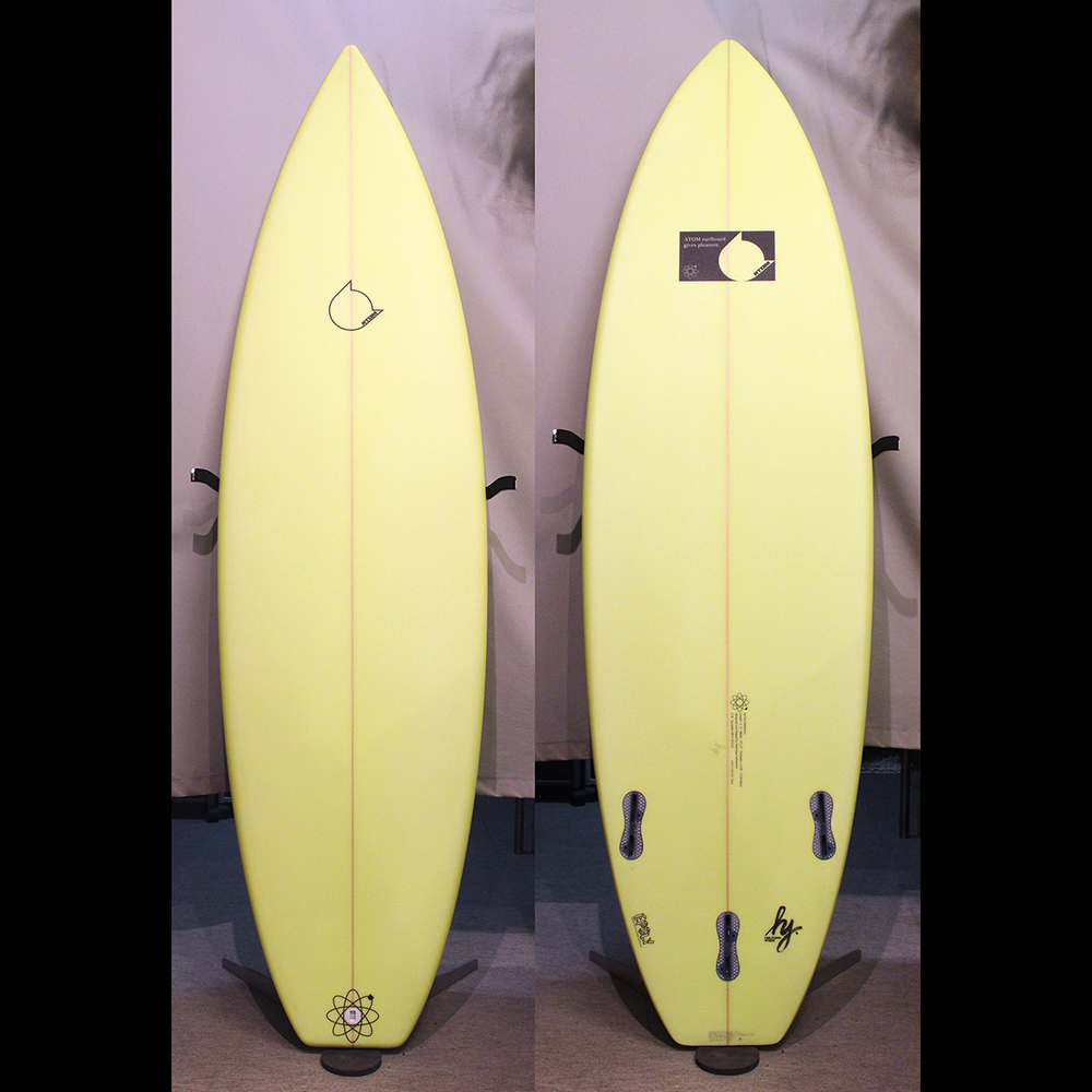 "ATOM Surfboard ""Squawker"" model with ""EPOLY"""