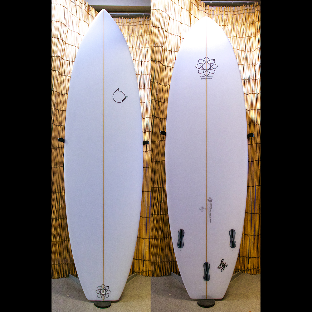 "ATOM Surfboard ""Leaps'n Bounds+"" model"