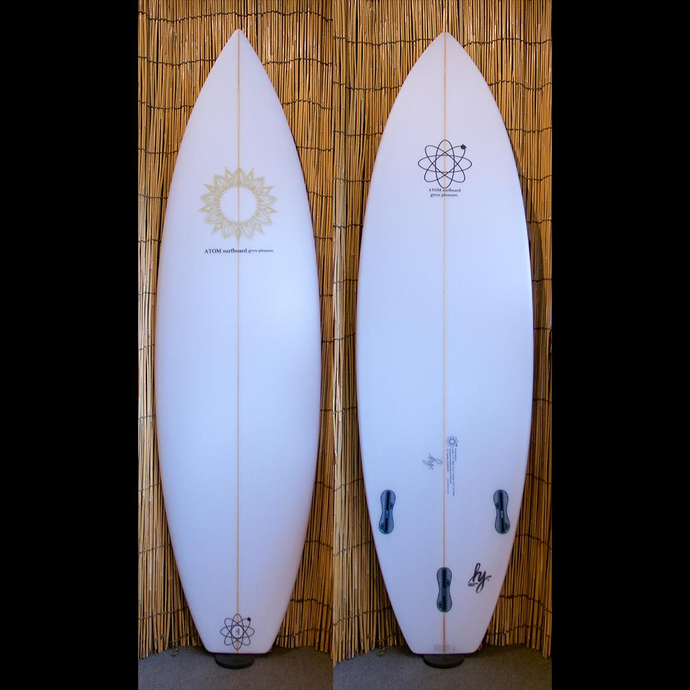 "ATOM Surfboard ""Squawker v2"" model"