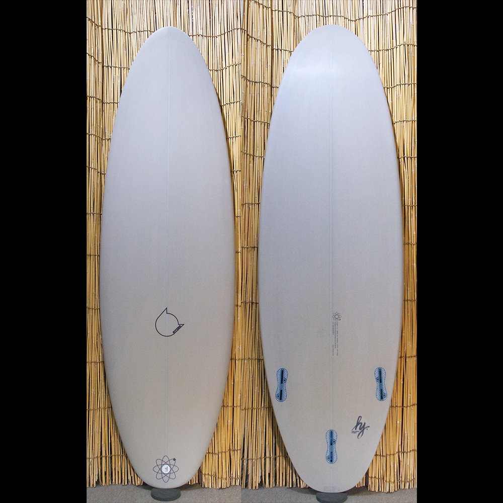 "ATOM Surfboard ""dab"" model mods."