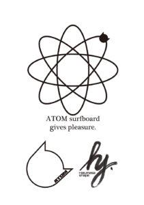 ATOM Surfboard gives pleasure.