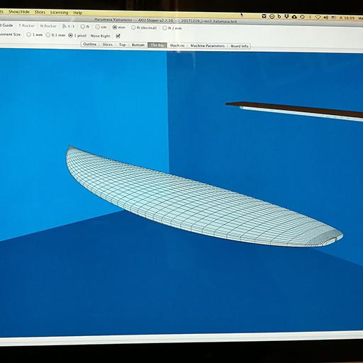 サーフボードオーダーからのお受け取りまでの流れ part 2