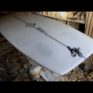 ATOM Surfboard anonymous model