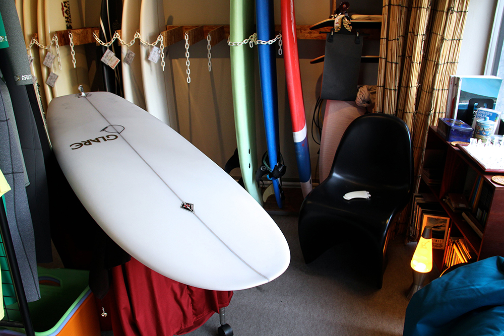 ATOM Surfboard anonymous model after setup