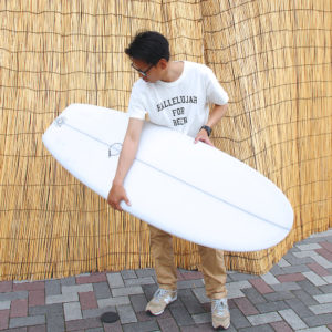 ATOM Surfboard anonymous model