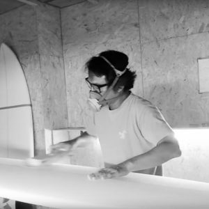 ATOM Surfboard smoothing part