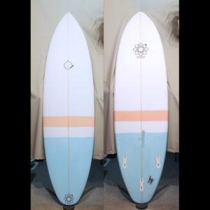 ATOM Surfboard Y.F.D. model roundアイキャッチ