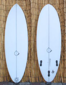 ATOM Surfboard dab model