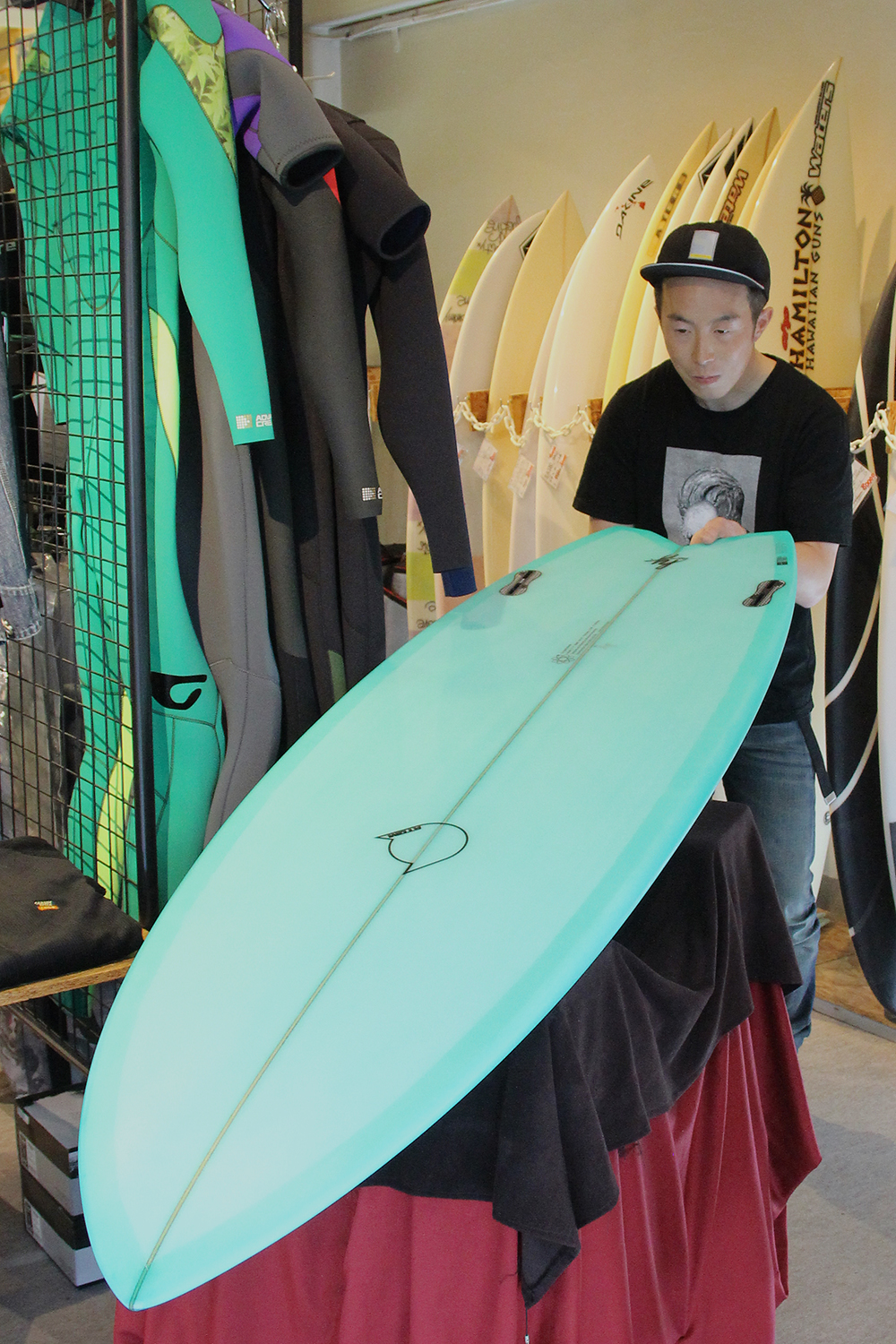 ATOM Surfboard Mach-ll model
