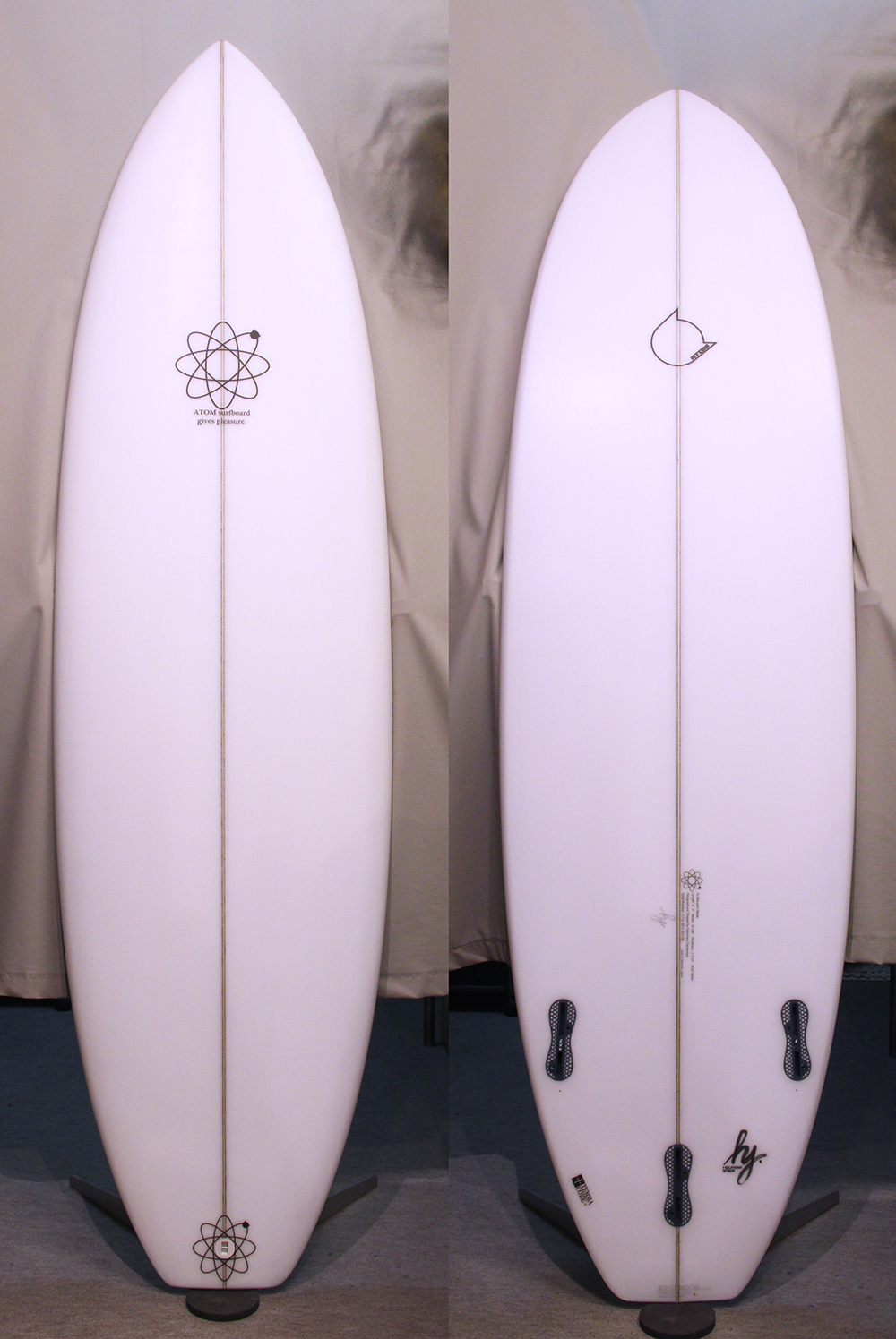 ATOM Surfboard Y.F.D. mod. model