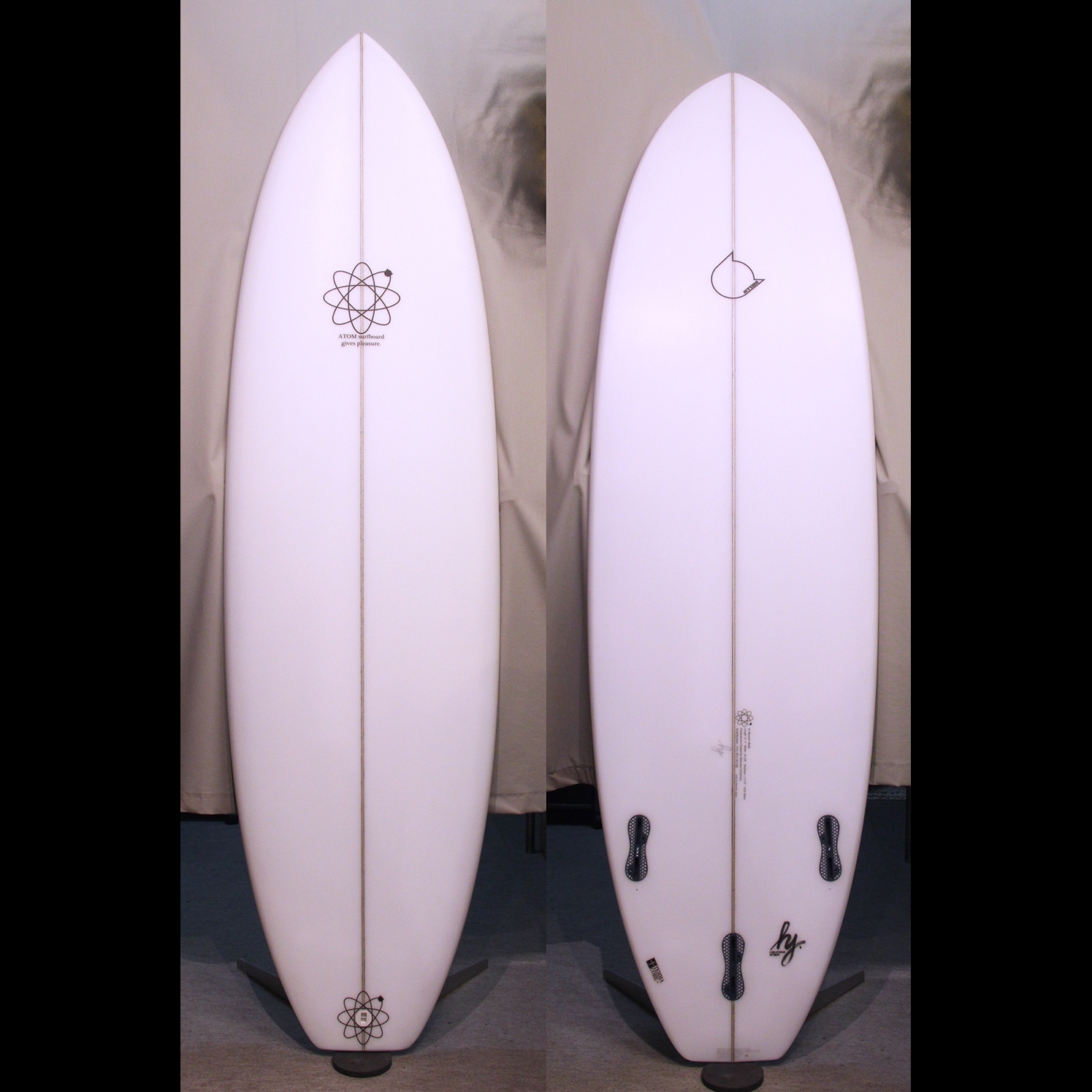 "ATOM Surfboard ""Y.F.D."" mod. model"