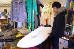 ATOM Surfboard Y.F.D. mod. model