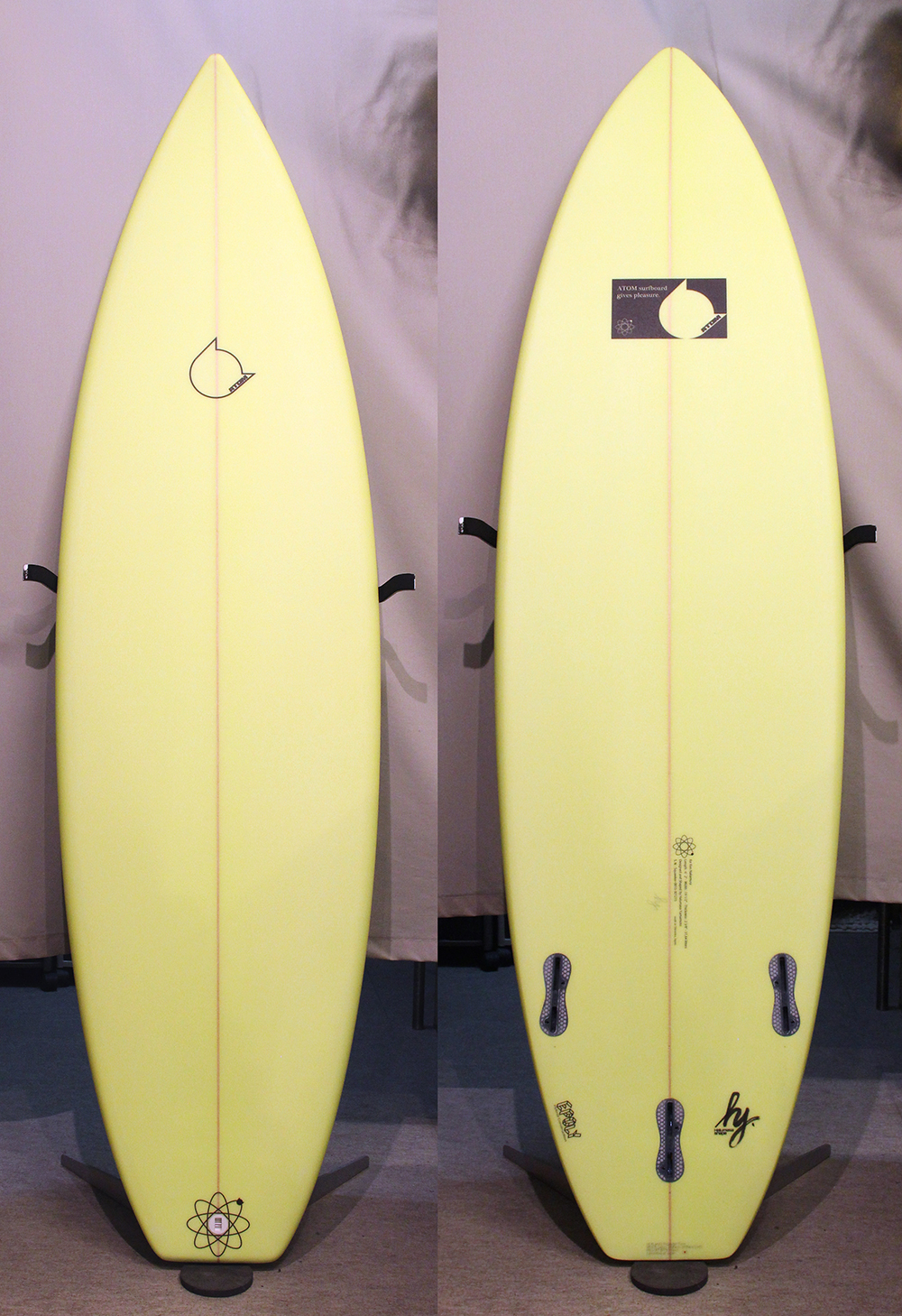 ATOM Surfboard Squawker model with EPOLY