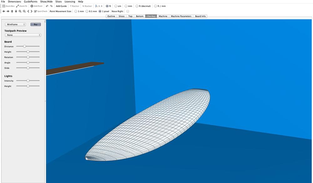 このユーザーさんのdab modelの3D画像