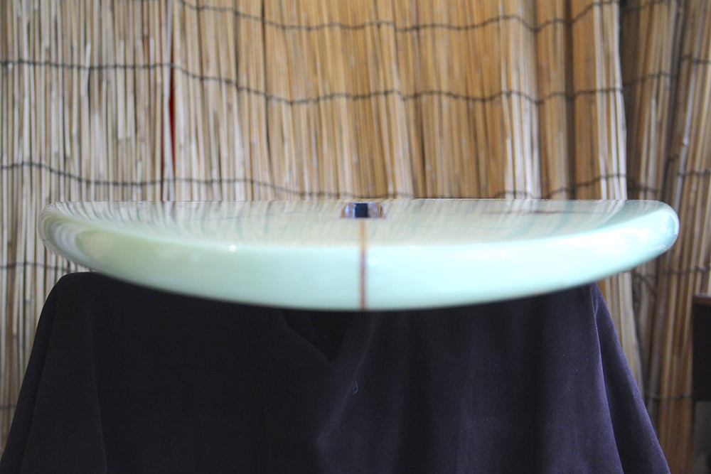 ATOM Surfboard Sanctuary model Bottom Contour