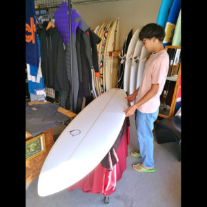 ATOM Surfboard Leaps'n Bounds model