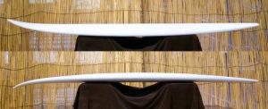 ATOM Surfboard Latest v2 model Deck Curve & Rocker