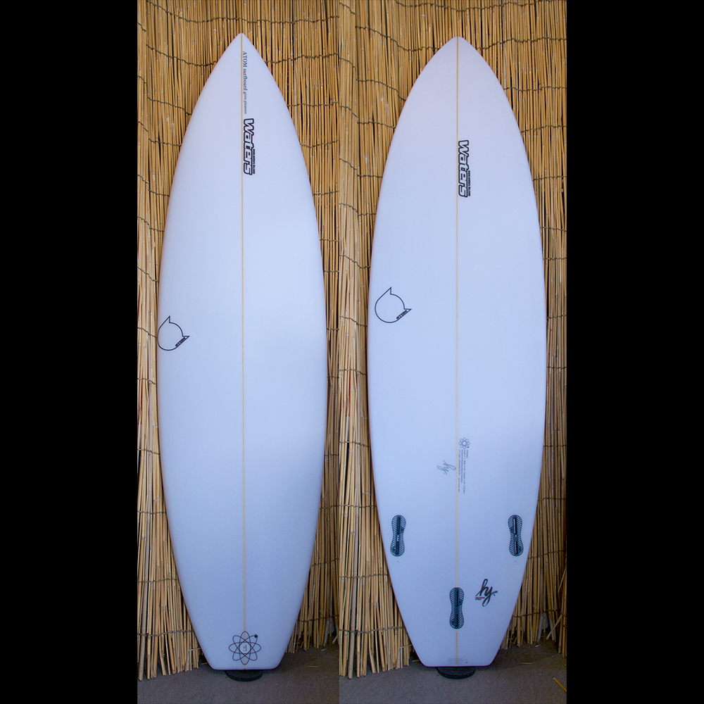 "ATOM Surfboard ""Leaps'n Bounds"" model"