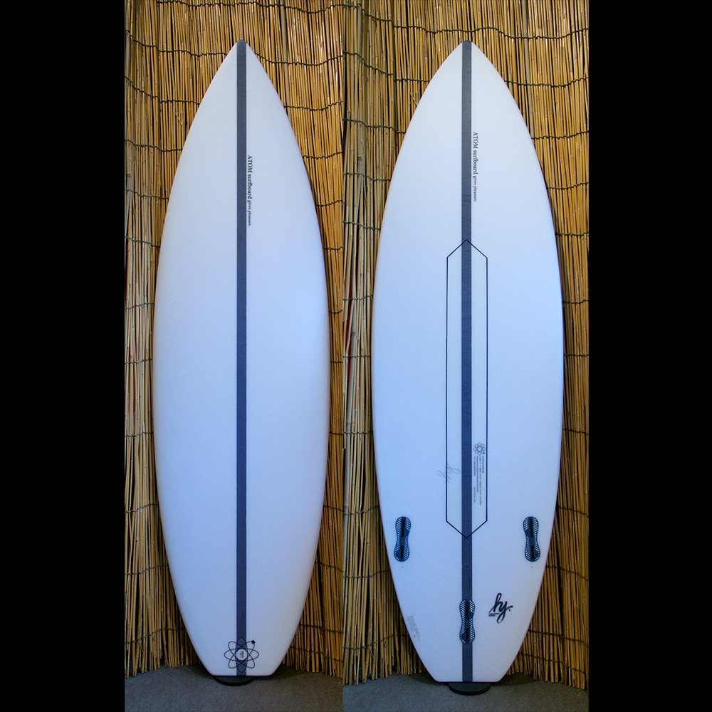 "ATOM Surfboard ""Strider"" model + ATOM Tech"