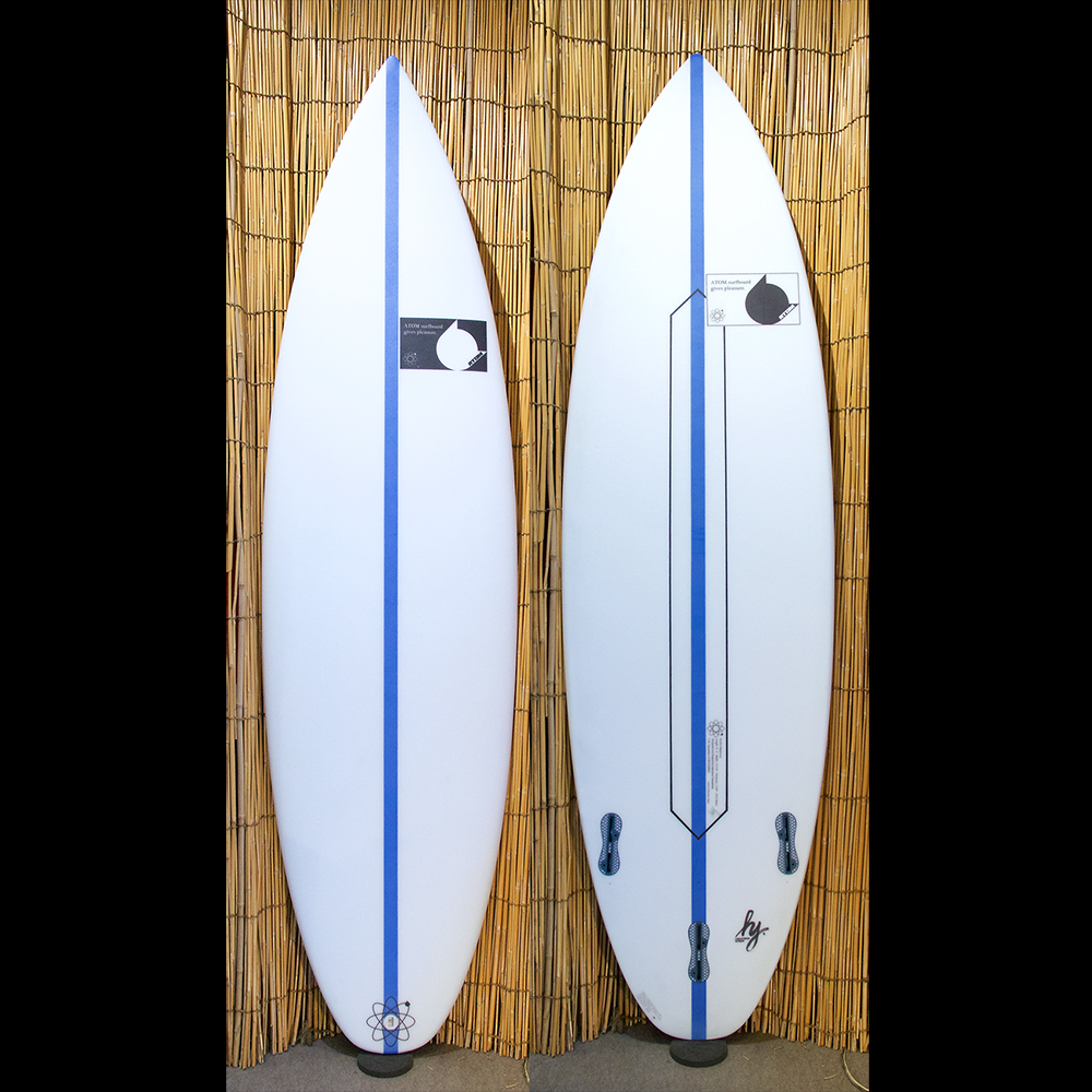 "ATOM Surfboard ""Squawker v2"" model Round Tail by ATOM Tech"