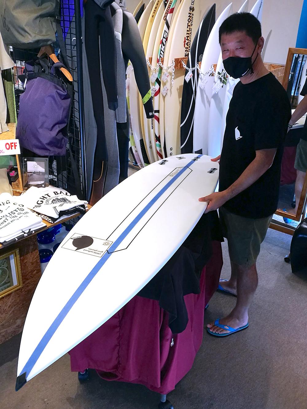 ATOM Surfboard Squawker v2 model by ATOM Tech